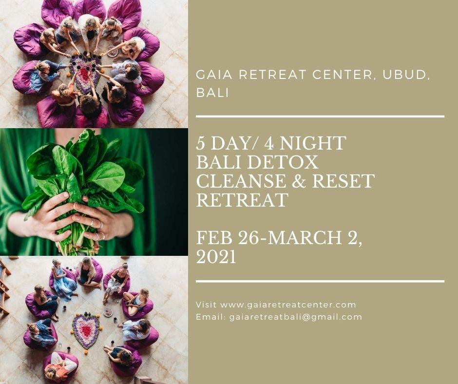 Bali Detox Retreat 2021