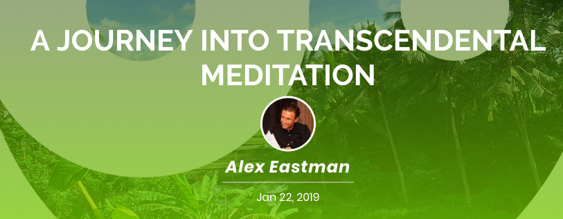 Alexander Eastman Transcendental Meditation Retreat in Bali Villa Gaia