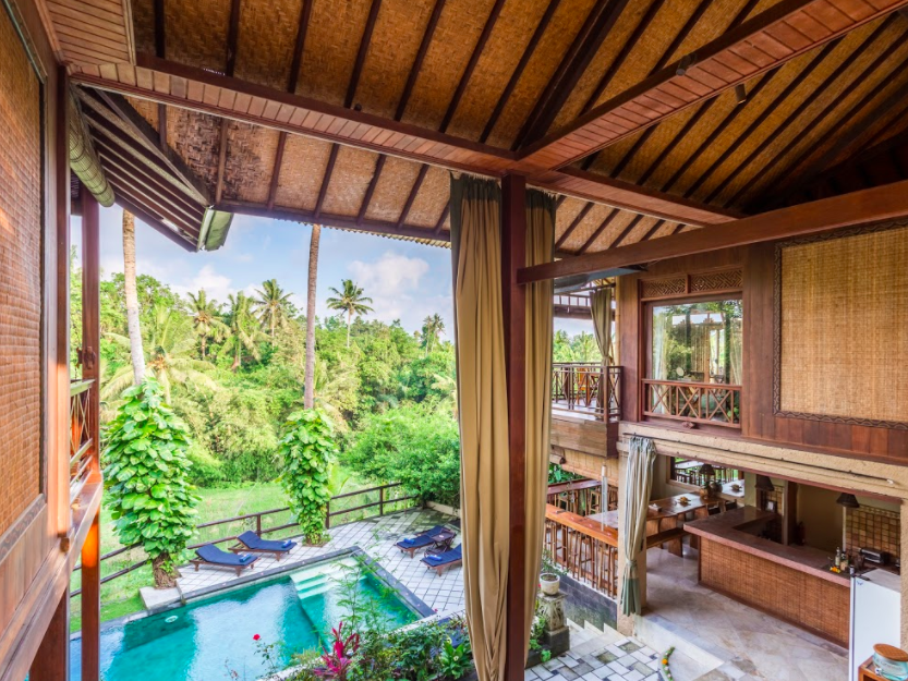 Welcom to Gaia Retreat Center in Ubud, Bali, Indonesia